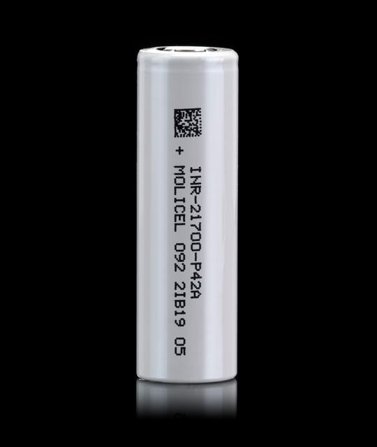 Picture of MOLICEL P42A 21700 Battery